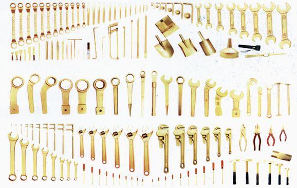 防爆工具常见的材质及适用范围